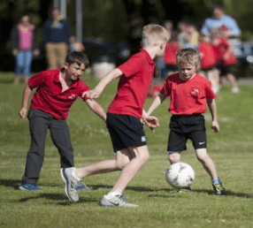 88% of children take part in sport