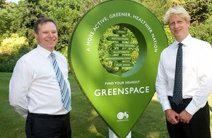 New online maps to help Britons experience their local greenspaces