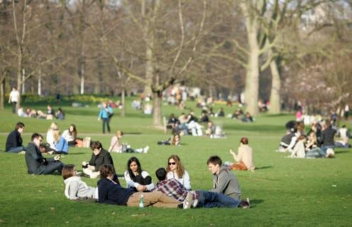 New research shows UK parks and green spaces generate over £34 billion of health and wellbeing benefits